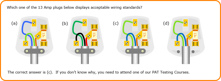 pat testing training courses in england and wales rh priorytrainingacademy co uk Wiring a Plug Up Three Pin Plug Wiring